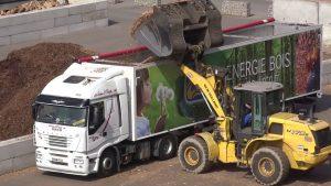 Transport benne en fond mouvant en Auvergne Rhône-Alpes